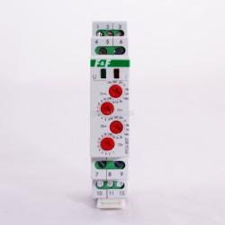 Przekaźnik czasowy 2P 8A 0,1sek-576h 230V AC opóźnione załączenie/wyłączenie - cykliczne PCU-507 230V